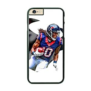 NFL Case Cover For SamSung Galaxy S6 Black Cell Phone Case Houston Texans QNXTWKHE1462 NFL Phone Plastic