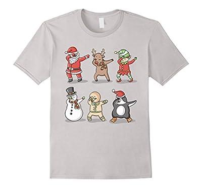 Dabbing Santa Ugly Sweater T-Shirt, Funny Christmas Shirt