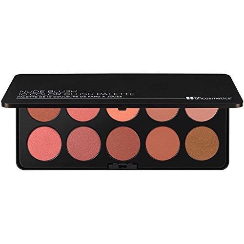 (Nude Blush - 10 Color Blush Palette )