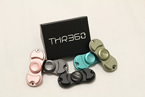 THR360 – EDC Aluminum Classic Style Finger Toy – The Official Fidget Spinner Reduce Anxiety Stress Boredom (Army Green)