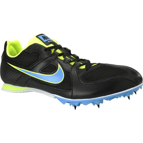 Nike Unisex Air Zoom Rival 6 Middle Distance Running Spikes - 9.5 - Black