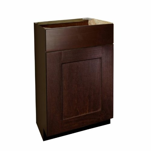 - Shaker Panel Door Style Vanity Base with Drawer 18