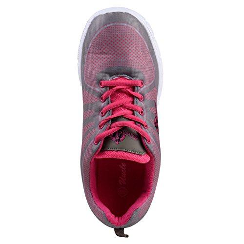 Rose Légères Rose Femmes de sans Oncle Gris Course Chaussures Gris Sam Couture YPqTnxn5zX