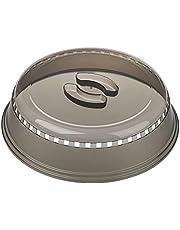 Progressive International Tampa para microondas, 26 cm, cinza