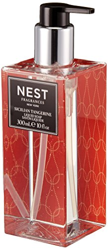 NEST Fragrances Scented Liquid Hand Soap- Sicilian Tangerine , 10 fl (Scented Liquid)