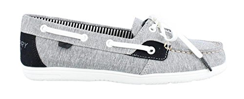 Women's Sperry, Shore Sider Boat Shoes Black 7.5 M