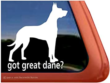 accessory outdoor window sticker vinyl sticker Great Dane dog decal
