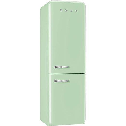 Smeg FAB32URDLN 50s Style Bottom Freezer 11.7 Cubic Feet Red Left-hand Refrigerator