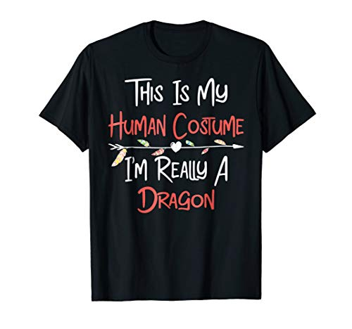 This is my Human Dragon Costume Shirt Funny