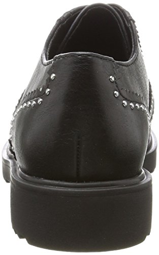 Tozzi Black Donna Brogue Marco 23735 Nero Antic 7Oq4wdnP