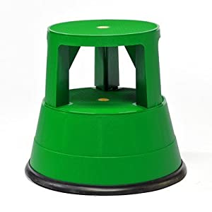 1-Step Plastic Portable Rolling Stable Step Stool with 300 lb. Load Capacity Color Green  sc 1 st  Amazon.com & 1-Step Plastic Portable Rolling Stable Step Stool with 300 lb ... islam-shia.org