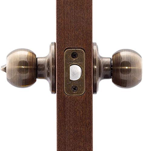 Copper Creek BK2030AB Ball Knob, Antique Brass