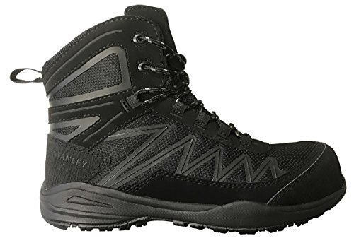 Womens Composite Toe Boot - Stanley Breeze Mid Women's Hiker Composite Toe Safety Boot (9 B(M) US, Black)