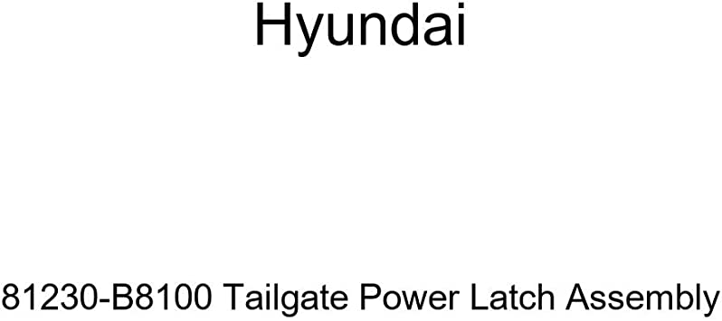 Genuine Hyundai 81230-B8100 Tailgate Power Latch Assembly