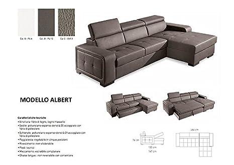Sofá cama con chaise longue caja: Amazon.es: Hogar