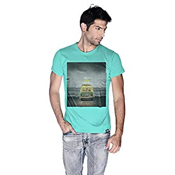 Creo Beach Van T-Shirt For Men - Xl, Green