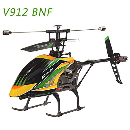 Faironly V912 Sky Dancer 4CH RC Helicopter with Gyro BNF Green