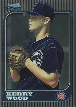 1997 Bowman Chrome Baseball #183 Kerry Wood Rookie Card