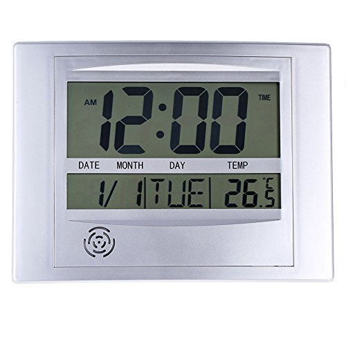 (La Crosse Technology WT-8002U Digital Wall Clock)