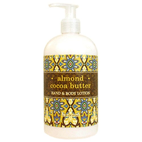 Greenwich Bay Trading Co. Hand & Body Lotion, 16 Ounce, Almond Cocoa Butter