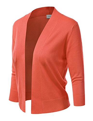 Buy salmon cardigan sweater