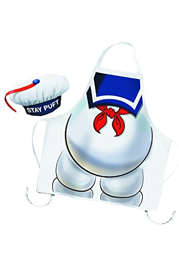 Cryptozoic Entertainment Ghostbusters Stay Puft Apron & Hat (Stay Puft Hat)