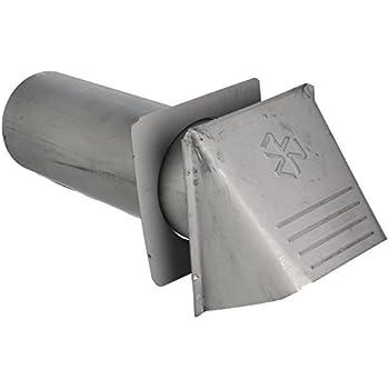 Builder S Best 110889 Thru Wall Dryer Vent Hood 4
