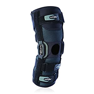 Donjoy Playmaker II Hinged Knee Sleeve - Knee Ligament Support Brace 37