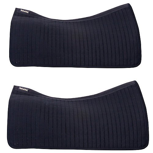 Back on Track Therapeutic Western Saddle Pad 2pack