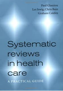 Systematic reviews in health care meta analysis in context systematic reviews in health care a practical guide fandeluxe Images
