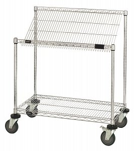 Quantum Storage Systems Work Center Wire Workstation Cart - 18X36X39