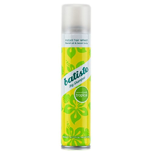 Batiste Dry Shampoo, Tropical, 6.73 Ounce (Packaging May (Tropical Scent)