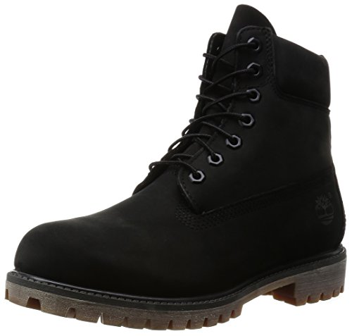 Timberland 6 Inch Premium Boots (A114V), Nero, 42