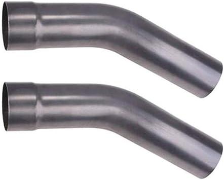"MBRP Universal Aluminized Steel 45 Exhaust Pipe Bend 3/"" OD//12/"" Legs"
