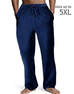 Hanes Men's ComfortSoft® Jersey Cotton Lounge Pants Black S Hanes Men's