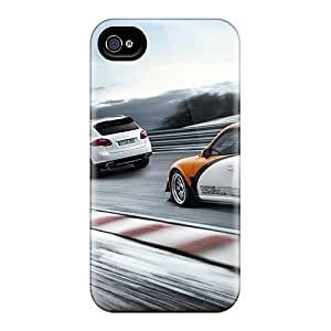 Hot Snap-on Porsche Trio Hard Covers Cases/ Protective Cases For Iphone 4/4s