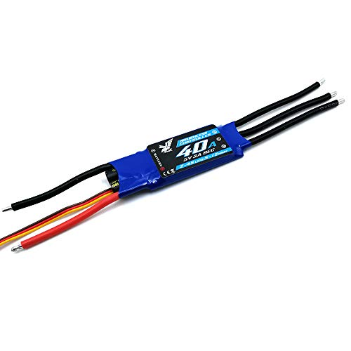 EC Output for The rc Airplane Fixed Wing 2-4S Lipo Hawk ZTW (40a Electronic)