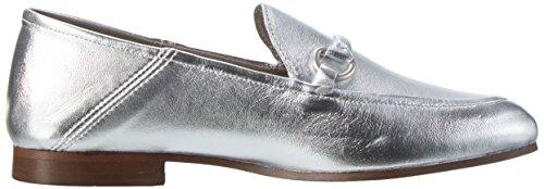 Arianna, Mocasines para Mujer, Plateado (Silver), 37 EU Hudson