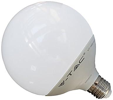 V-TAC 4254 E27 13 W LED Birne Globusform EEK A Dimmbar 240 V 50/60 ...