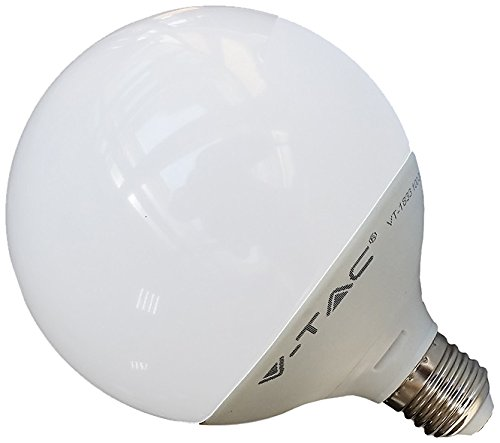 Bombilla Led E27 13W G120 Globo Blanco Cálido REGULABLE 1055Lm: Amazon.es: Iluminación