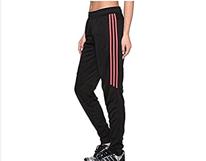 Skinny Soccer Pants for Men and Women Football Fitness Training Workout  Sport Athletic Skinny Trousers (S-M-L-XL) (Black Pink) 4d53a6592d