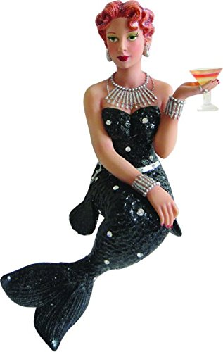 December Diamonds Stinger Glitter Socialite Mermaid Christmas Ornament 5590758