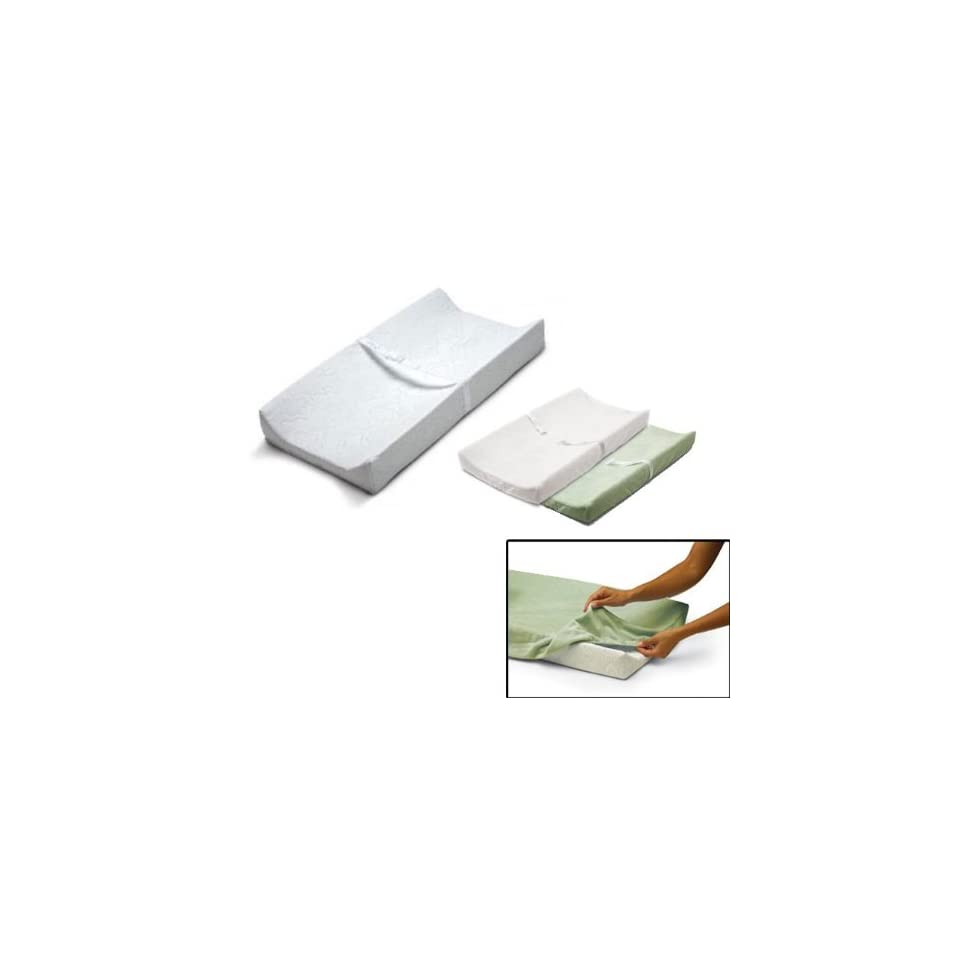 SUMMER INFANT PRODUCT CONTOUR CHANGING PAD WITH 1WHITE COVER AND 1
