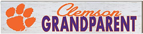 KH Sports Fan 3x13 Weathered Grandparent Clemson - Sign Wood Clemson