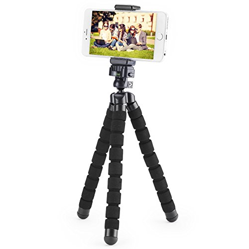 Smartphone Flexible Tripod iKross Compact Tripod Stand Mount Holder with Adapters For Smartphone, iPhone/Digital Camera/GoPro Hero All Version by iKross (Image #5)
