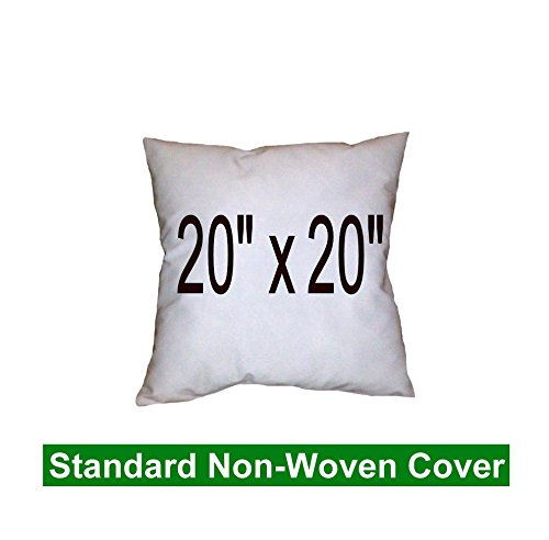 Pillow Inserts 20 x 20 Square -100% polyester fibre filled Hometex