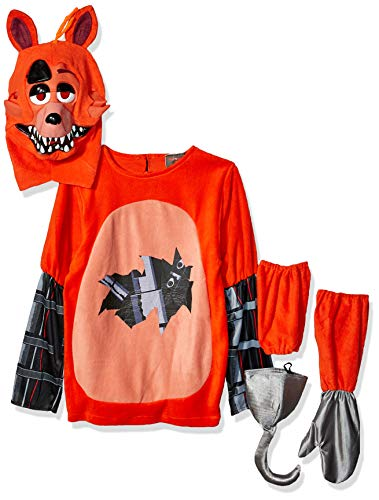 All Halloween Animatronics Fnaf 4 (Rubie's Men's Five Nights at Freddy's Foxy Costume, Multi,)