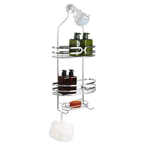 BINO Carolina 3 Shelf Showerhead Chrome product image