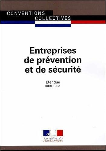 Amazon Fr Entreprises De Prevention Et De Securite Convention