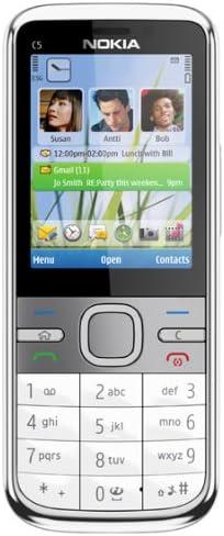 Nokia C5 - Móvil libre (cámara 5 MP) color plata [importado de ...